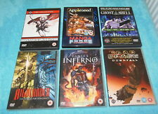 Manga dvds Highlander Dantes Inferno Dead Space Amon Saga Appleseed Ghost in the