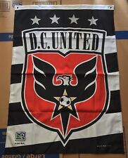 """DC United Banner Flag 27"""" x 38"""" Polyester WinCraft Major League Soccer 2007 MLS"""