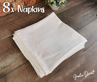 Set of 8 British Airways Luxury Napkins Club World First Class 50 x 50cm, 100gsm