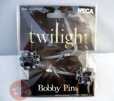 Twilight Saga - Bobby Pins with Cullen Crest Set NEW hair accessory clips beauty