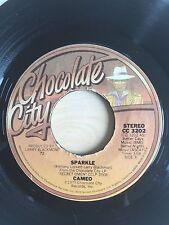 CAMEO SPARKLE / MACHO CHOCOLATE CITY RECORDS 3202