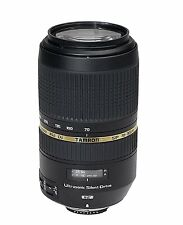 Tamron SP 70-300mm F/4-5.6 Di VC USD Telephoto Zoom Lens with Hood for Nikon