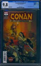 Conan the Barbarian 1 (Marvel) CGC 9.8 White Pages Jason Aaron story Esad Ribic