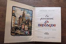 Charles Chassé / En parcourant la Bretagne / ill. P. Péron / Ed. Les flots bleus