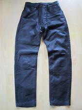 Neuwertige Lederhose / Bikerhose / Motorradhose von Orina, Größe 30, BW 36