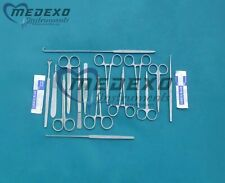 Basic Tissue Dissection 27 Pieces set of Surgical Medical Instruments
