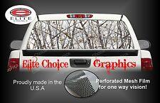 Snow Tree Camo Rear Window Graphic Decal Sticker Truck Car SUV