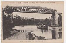 France, Les Bords de la Rance, Le Pont de Lessard Postcard, B271