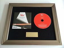 BLUR - UNDER THE WESTWAY FRAMED CD PRESENTATION. RARE. DAMON ALBARN