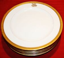 Lenox C41A Gold Encrusted Salad Plates - Set of 7
