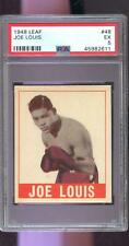 1948 Leaf #48 Joe Louis PSA 5 Graded Boxing Card