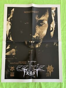 CELTIC FROST Rare PROMO POSTER for Monotheist  18x24 Metal Band Poster