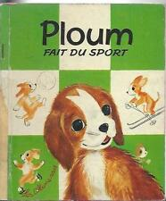 Ploum fait du sport board book axelle porm romain simon les albums roses 1967