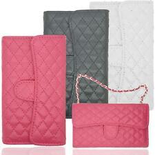 Funda bolsillo de plegado protección funda móvil funda flip cover Wallet camilla cadena, estuche, protección