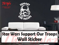 Star Wars Support Our Troops Vinyl Wall Sticker