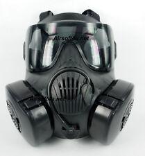 ZUJZHE M50 Full Face Fan Airsoft Mask - Black