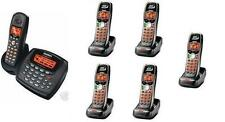 Uniden 2 Line Cordless Intercom Paging Dual Conference Phone System w 6 Handsets