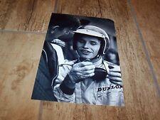 Photo / Photograph  Jacky Ickx & Ken Tyrrell  1966  //