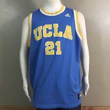 UCLA Bruins Sewn Basketball Jersey #21  Adidas Classic Colors Sz L