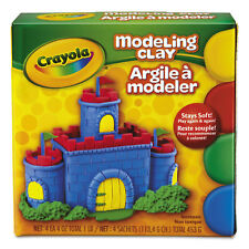 Crayola Modeling Clay Assortment 1/4 lb each Blue/Green/Red/Yellow 1 lb 570300