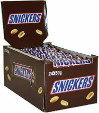 Snickers Chocolate 24x48g Bars Best Before 18/10/20