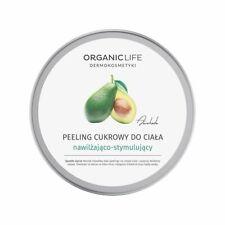 Sugar Body Scrub - Moisturizing And Stimulating 150g Organic Life