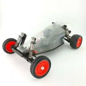 Rare Vintage Losi JRX Pro JRX2 Chassis With Body Shell 1/10th Scale RC OZRC JL