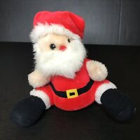 Vintage Santa Claus Plush Doll Toy Musical Music Box Fairview Industrial
