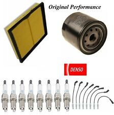Tune Up Kit Filters Wire Spark Plugs Fit DODGE DURANGO V8; 4.7L; FLEX 2008-2009