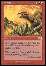 ▼▲▼ Wildfire (Feu dévastateur) Urza's Saga #228 ENGLISH Magic