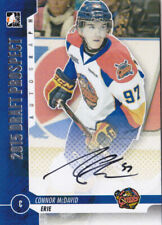 12-13 ITG Draft Connor McDavid Auto Erie Otters Autograph 2012
