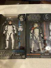 star wars black series 6 inch Han Solo / Sandtrooper lot