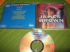 CD JAMES BROWN - LIVE - DISC TWO