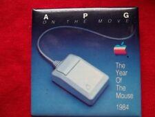 Apple Computer 1984 VINTAGE Badge/Pin