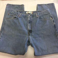 Men's LEVI'S Jeans 505 SZ 40W/32L REGULAR FIT LIGHT WASH