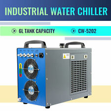 CW-5202 Industrial Water Chiller for 60-150W CO2 Laser Tubes and Lab Equipment