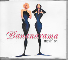 BANANARAMA - Movin' on CDM 4TR Euro House Synth-Pop 1992 Stock Waterman