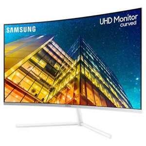 "Samsung 32"" Class 4K UHD Curved Monitor"
