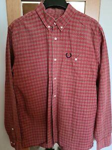 "Fred Perry Tartan Shirt - 40""/M"