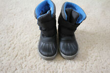 Snow winter boots boys toddler size 13 faux fur lining