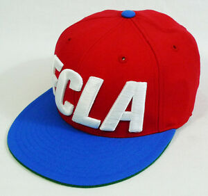 Flight Club New York FCLA NBA Clippers inspired Mitchell & Ness Fitted Hat Cap