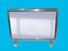 Leuchtreklame 1500x500 Nasenschild mit LED Leuchtwerbung 2 seitig Leuchtkasten