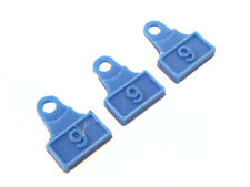 3 Pack Dillon 9mm locator pin plastic catcher 1050 RL 550 550B button tabs