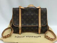 "Auth Louis Vuitton Monogram Marelle Sac a Dos 3 way Shoulder bag 9H120150n"""