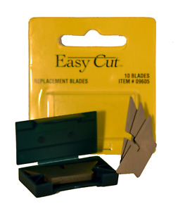 Easy Cut 10 Count Standard Replacement Blades Series 10 Blades in a Box