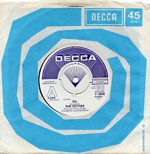 THE YETTIES oil*green fields of dorset 1979 UK DECCA DEMO 45