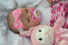 "PJs REALISTIC ❤ BERENGUER LA NEWBORN 16"" SOFT BODY SNUGGLY BABY DOLL REBORN PLAY"