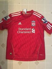 Liverpool Football Fernando Torres 9 Soccer Red Jersey Youth S Adidas HTF