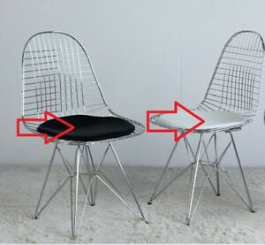 Only Cushion Replacement Dkr Style Wire Chair Pad Black White Choice