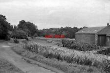 PHOTO  BALERNO RAILWAY STATION MID-LOTHIAN REMAINS 1962 CR EDINBURGH PRINCES STR